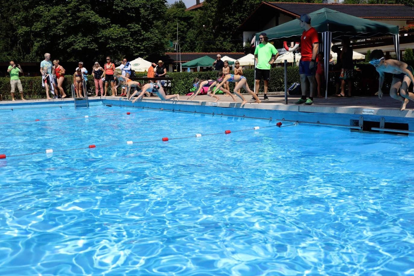 24. Miesbacher Schüler-Triathlon: Schwimmen am Freitag